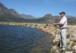 Flyfishing in Franschhoek